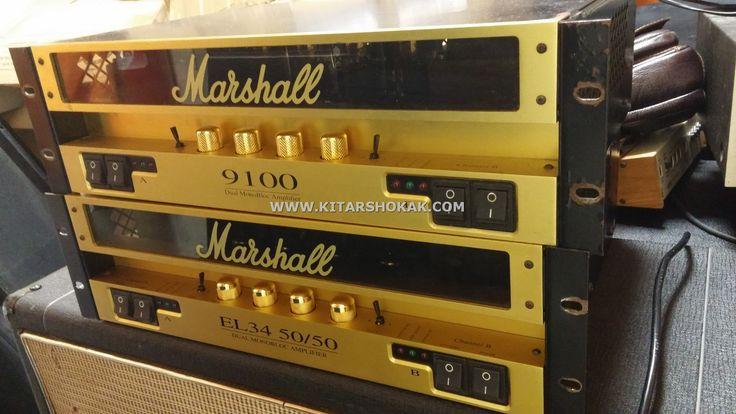 MARSHALL 9100 EL34 VS 5881 (6L6) #marshall #amp #vintage #poweramp #el34 #5881  #venta #buy #compra #sale #hire #rent #recording #grabacion #estudio #studio