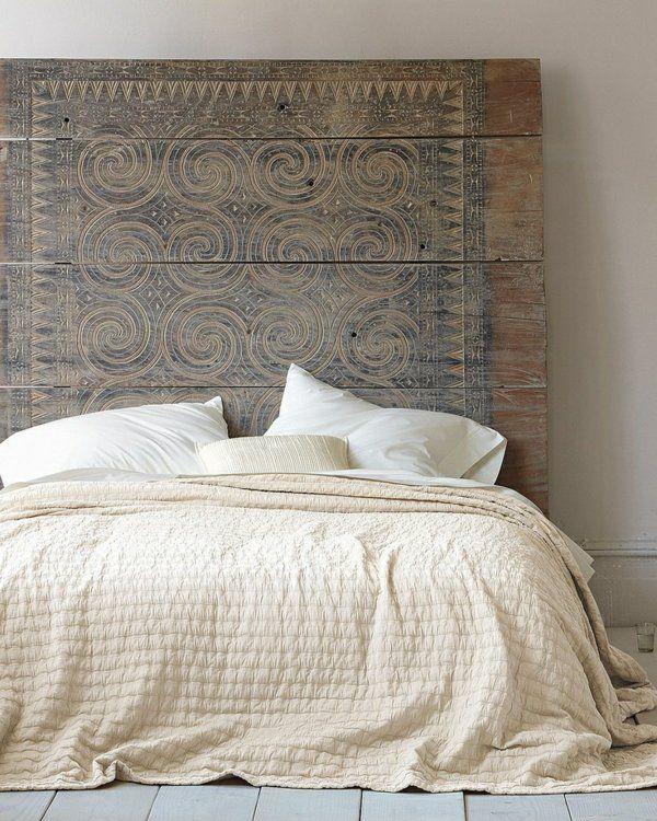 30 Ideen Für Bett Kopfteil   Märchenhafte Und Kunstvolle Beispiele