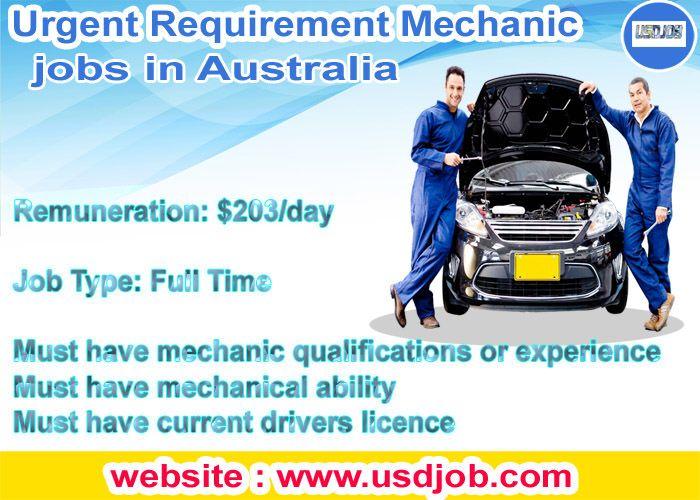 Mechanic Jobs In Australia Mechanic Jobs Job Mechanic