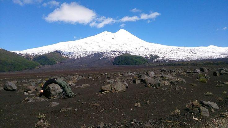 volcán llaima IX región de la araucania