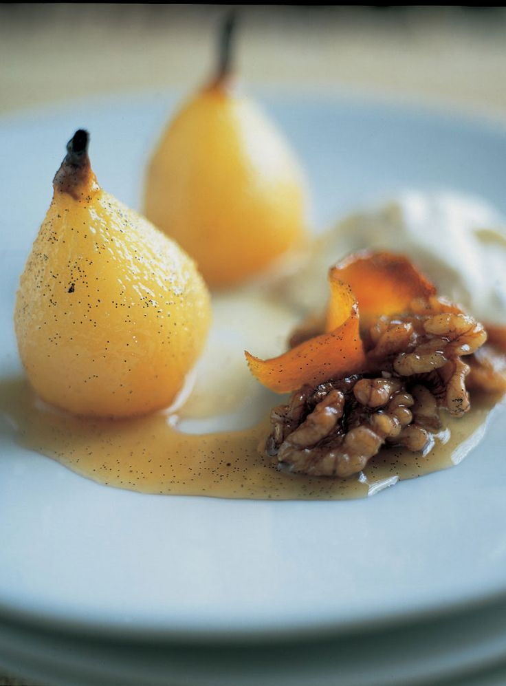 17 best ideas about baked pears on pinterest pear for Pear recipe ideas