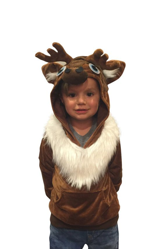 Super Comfy Halloween Costume Reindeer Costume Sven by ComfyCamper