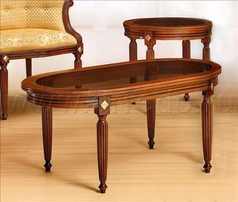 Стол журнальный MORELLO GIANPAOLO Carlotta 934/N 2, производитель MORELLO GIANPAOLO, коллекция Catalogo Generale – итальянская мебель на заказ «ARREDO»