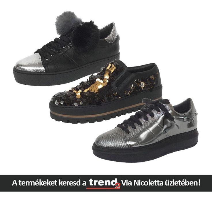 Őszi trendi darabok - ami a lábat illeti. Keressétek a Via Nicoletta üzletében!