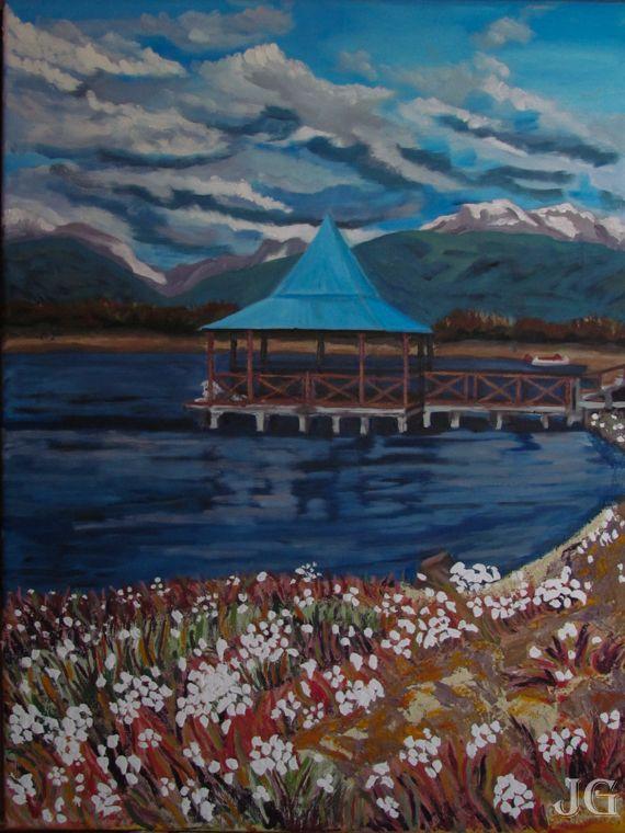 ushuahia camino al lago fagnano