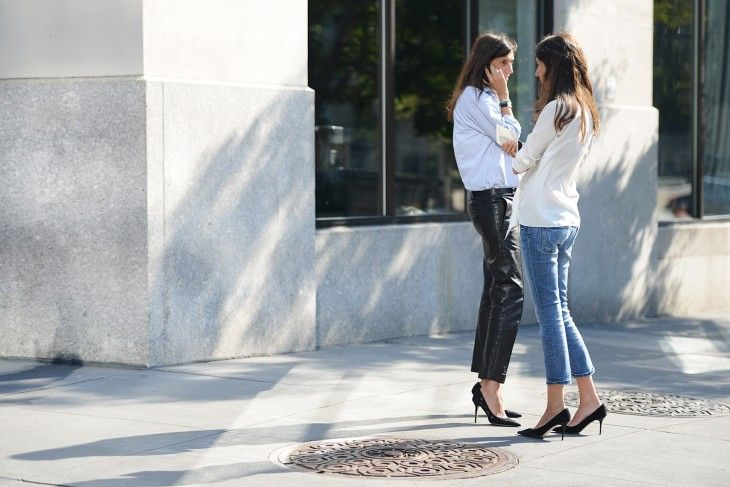 Simple & Chic: Fashion, Style Inspiration, Street Style, Styles, Black Pumps, French, Heels, Emmanuelle Alt, Classic