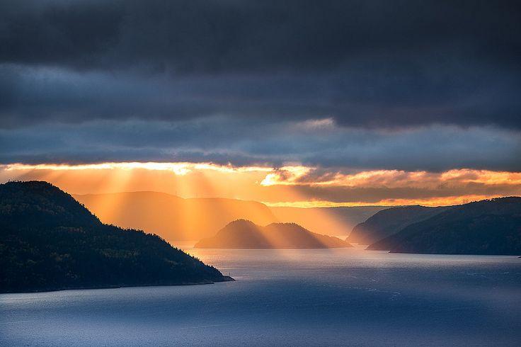 Anse de Tabatière, Fjord du Saguenay, Quebec, Canada Photo: Mathieu Dupuis