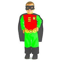 Batman The Brave and the Bold Robin Halloween Costume - Toddler Size 2T-4T