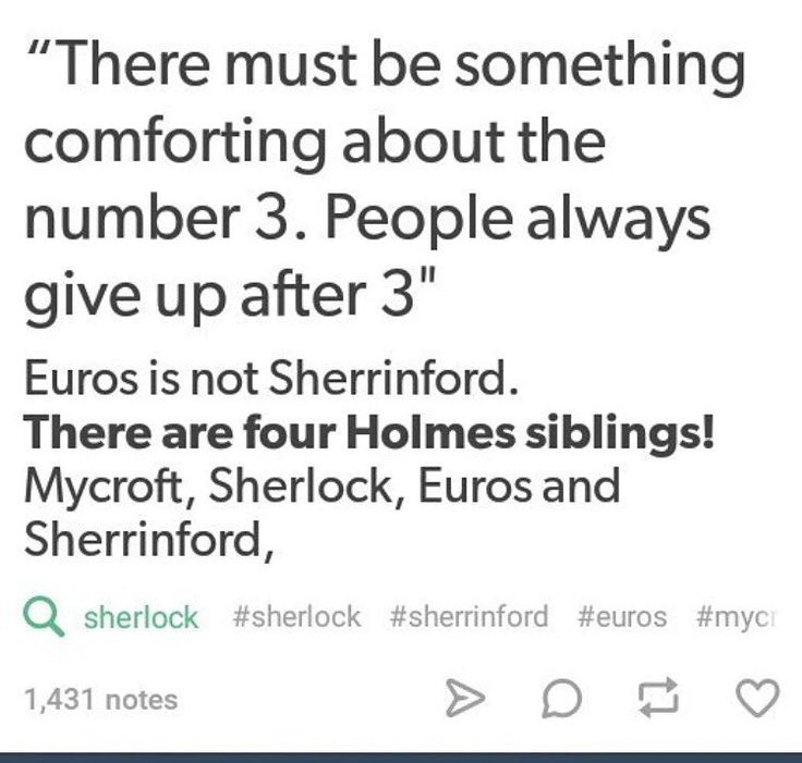Yesssssssssssssssssssssss! This was my first thought too! I had the thought that maybe Sherlock and Euros are the youngest and are twins, (hence the 'it's never twins' part) maybe she tried to hurt him before and was sent away? Idk...