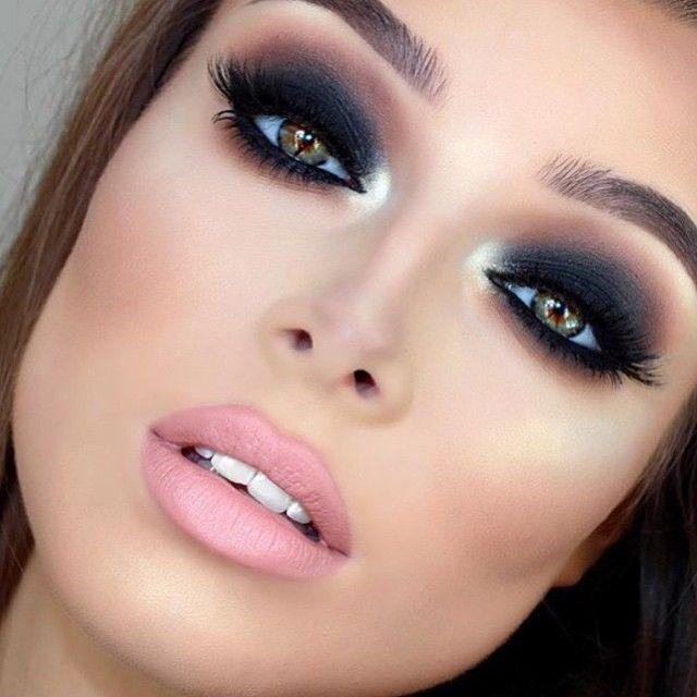 Přidat třpytivé oční stíny v rozích očí za krásný elegantní vzhled!  #beyourowncelebrity #lashes #makeup #beauty #cosmetics #eyes #makingeyes #pezzettacosmetics #beautiful #mua #follow @makeupaddictioncosmetics (na ...