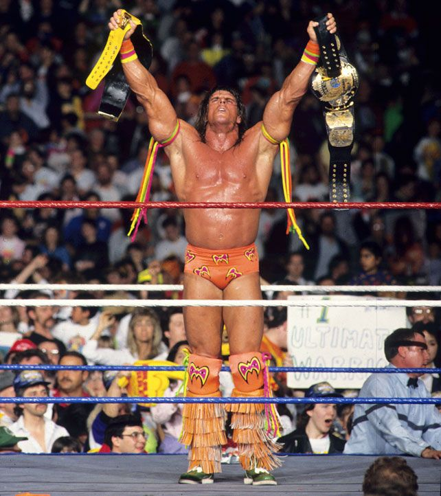 Hulk Hogan Vs The Ultimate Warrior Wrestlemania 6