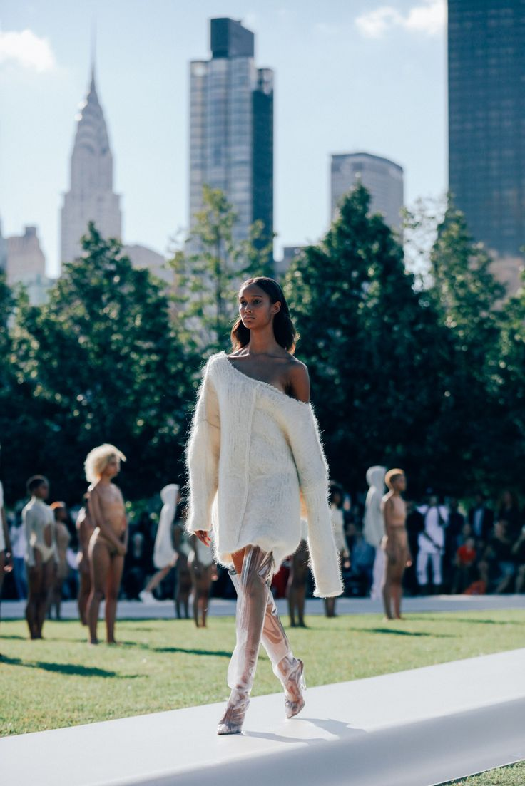 Yeezy Season 4: Exclusive Photos From the Fashion Show Everyone Is Talking About   GQ