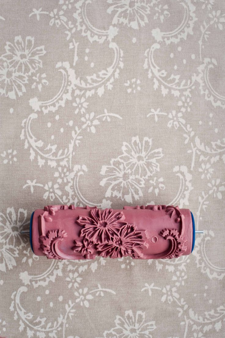 No. 12 Patterned Paint Roller from The Painted House. £15.00, via Etsy.