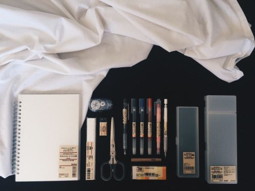 lancestudies:  19.1.16// honestly only found out about muji around a few weeks ago whilst looking around the studyblr tag. thankfully there's a muji store in sydney, allowing me to buy without too much of a hassle. I guess this is my muji haul c:  ahh I'm so excited for school!!