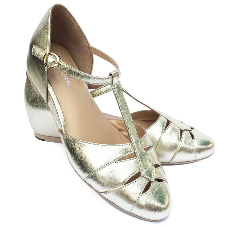 Charlie Stone Grace Shoes - Gold