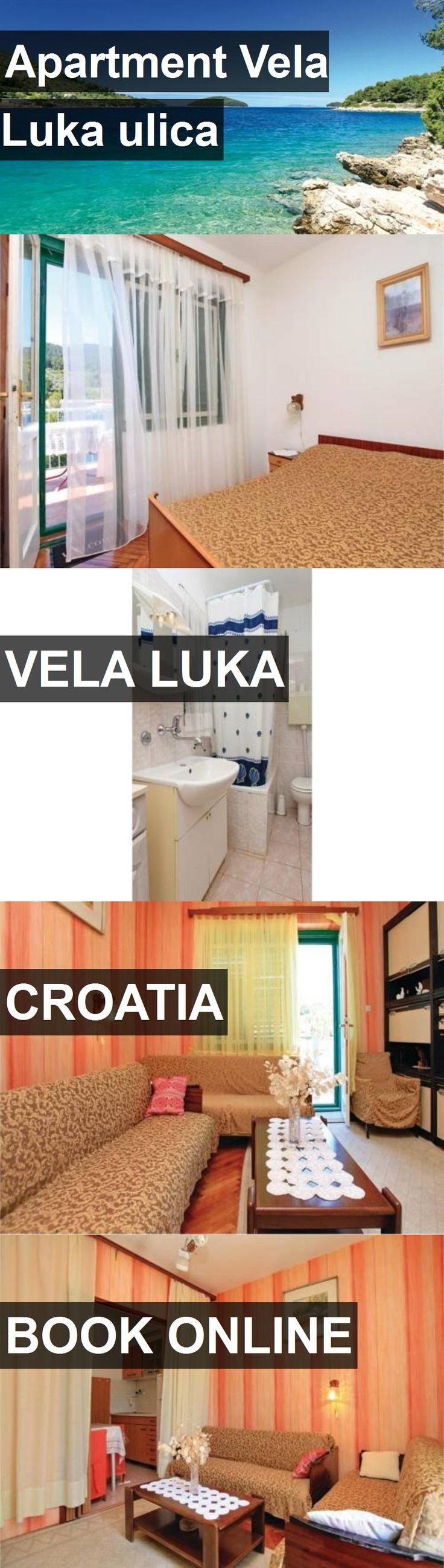 Hotel Apartment Vela Luka ulica in Vela Luka, Croatia. For more information, photos, reviews and best prices please follow the link. #Croatia #VelaLuka #ApartmentVelaLukaulica #hotel #travel #vacation