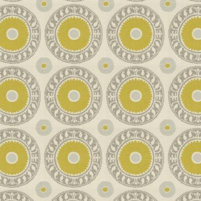 Asha Pewter Fabric by the Yard | Rugs | Ballard Designs