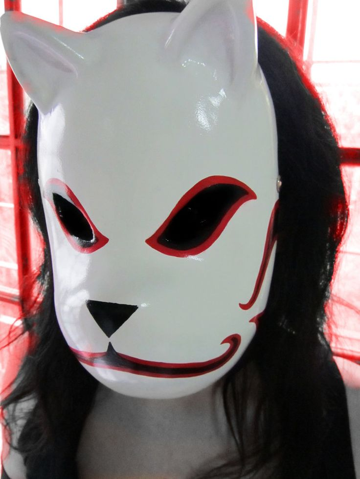 Anbu Mask - Naruto by Dominiquefx
