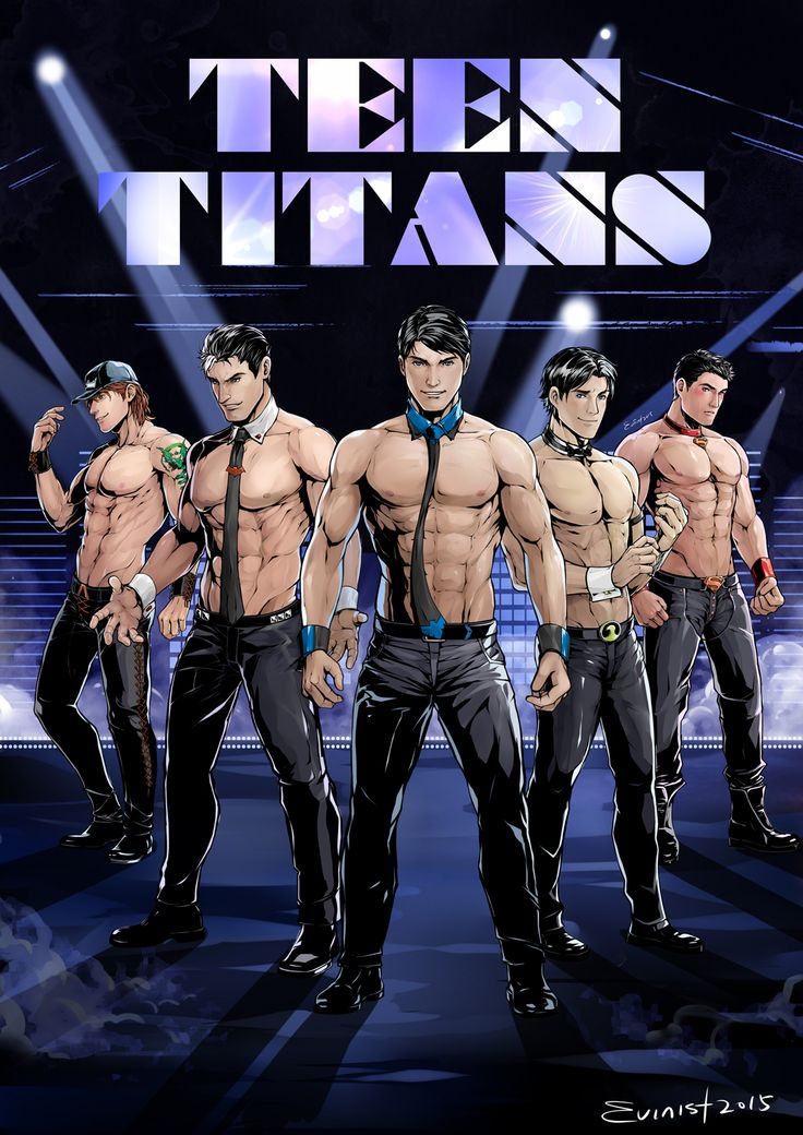 evinist on tumblr did what some of us really hoped to see with a Magic Mike cover...