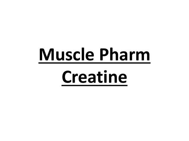 Muscle Pharm Creatine