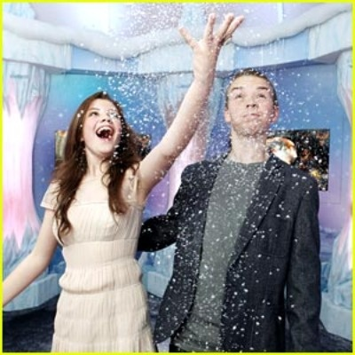 Georgie Henley and Will Poulter of Narnia