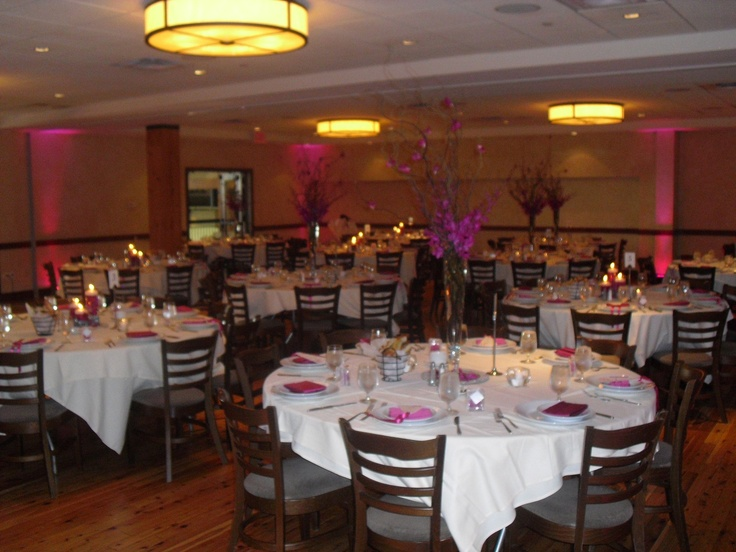 Decor Lighting For A Wedding Reception At Pinstripes In South Barrington IL
