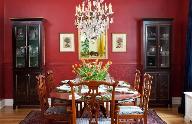 Ring In A Spicy Hot Palette Of Colors That Go With Orange: 1000+ Ideas About Red Dining Rooms On Pinterest