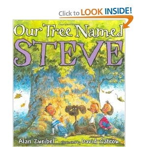 Kids books can be so profound.  This book reminds me of a beloved tree we lost a few years ago.