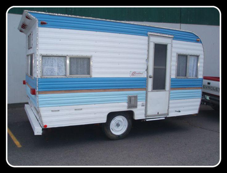 1975 vintage cardinal travel trailer 13 ft in rvs for Ebay motors car trailers