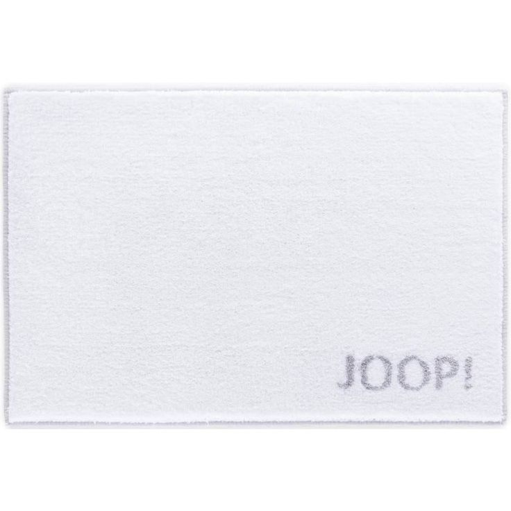 Biały dywanik łazienkowy JOOP! CLASSIC - NieMaJakwDomu