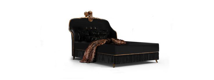 Black Bed FORBIDDEN by Koket