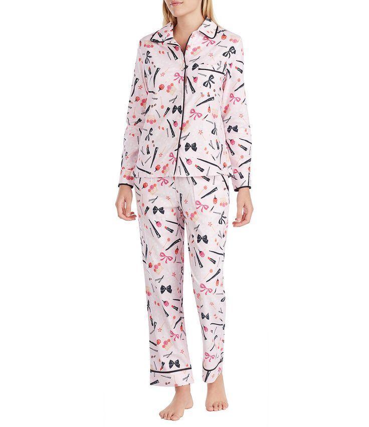 kate spade new york Dolled Up Flannel Pajamas #Dillards