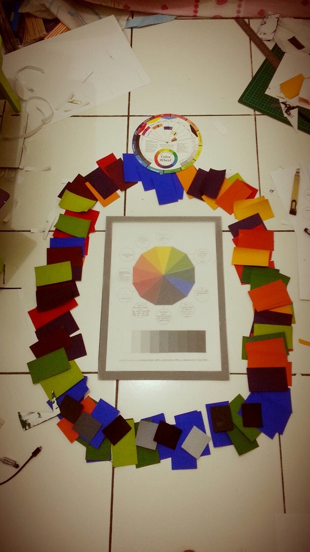Color Theory (task 1): Color Wheel