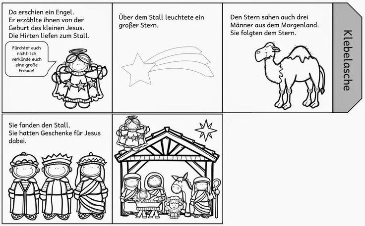 Faltleporello zur Weihnachtsgeschichte   EinLeporello zur Weihnachtsgeschichte hatte ich ja bereits letzte Jahr eingestellt. Nun habe ich ...