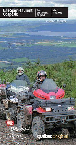 Cartes des sentiers de quad de la Gaspésie
