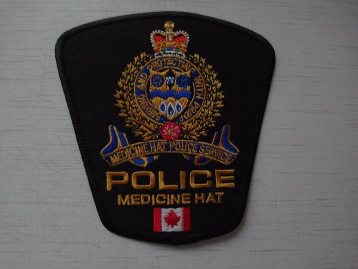 Patch Medicine Hat Police Service Canada Shoulder flashes New Original
