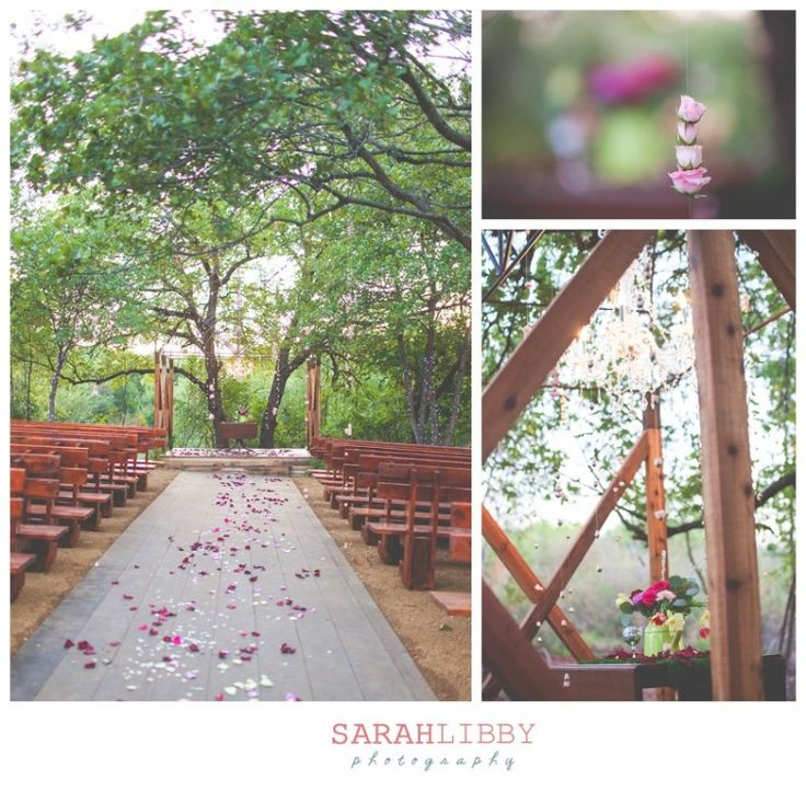 Enchanted Forest Outdoor Wedding At Southwind Hills Oklahoma Photo Credit Sarah Libby Photography
