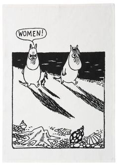Image result for moomin mama cutting wood