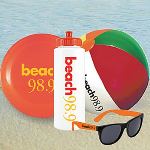 You don't have to invite us to a pool party twice—especially one that's stocked with promotional sunglasses, custom beach balls, promotional water bottles and custom frisbees. Pool + promo products = a guaranteed good time.