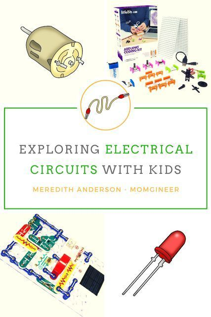 Fun hands-on and virtual electrical circuit activities for kids. Try hands-on circuits as well as virtual activities to get familiar with how they work, and learn about logic gates. | Meredith Anderson - Momgineer