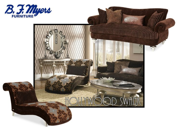 Chocolate Armless Chaise U0026 Living Room Sofa AVAILABLE AT B.F. MYERS  FURNITURE In Goodlettsville, ...