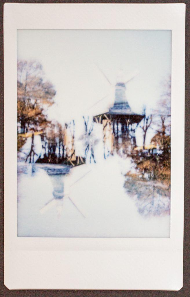 Bremer Windmühle, Doppelbelichtung instax mini 90