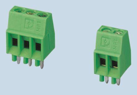Buy 基板端子台 Phoenix Contact, COMBICON MPTシリーズ, 2.54mmピッチ , 1列, 8極