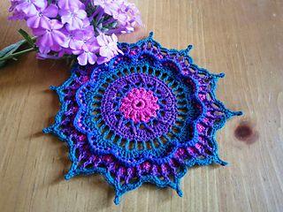 Mandala / Doily - Free Crochet Pattern