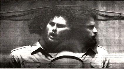 Paolo Gioli  Dire no  1974 fotofinish stampa bn