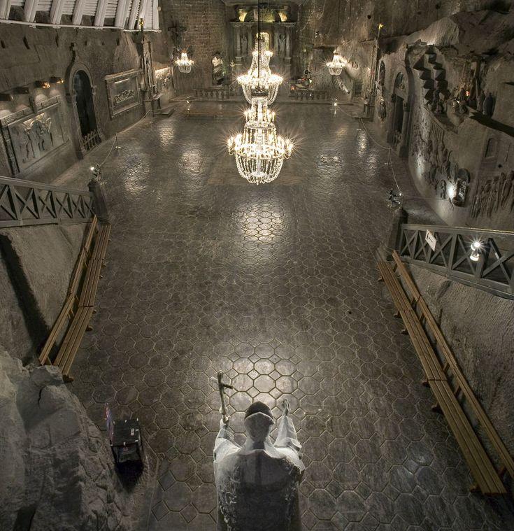 Wedding underground Wieliczka Salt Mine 24 best