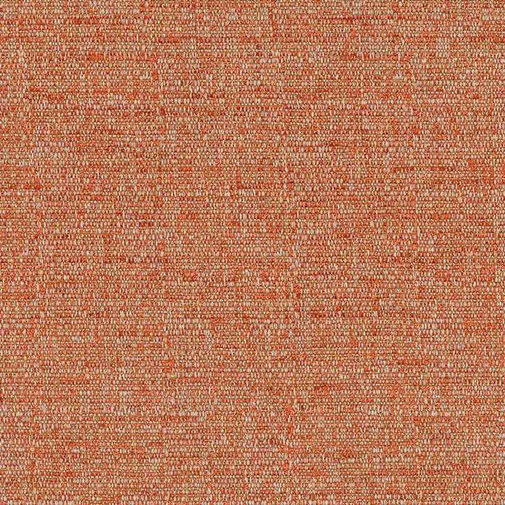 Warwick Fabrics : MASON, Colour TANGERINE