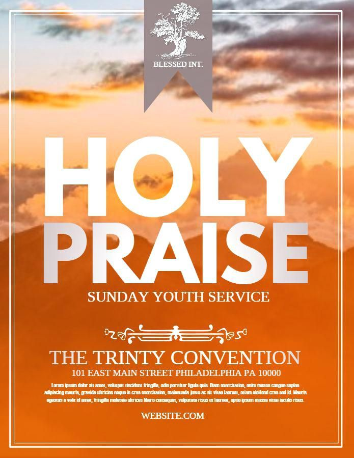 Event Flyer Template Google Docs Best Church Templates