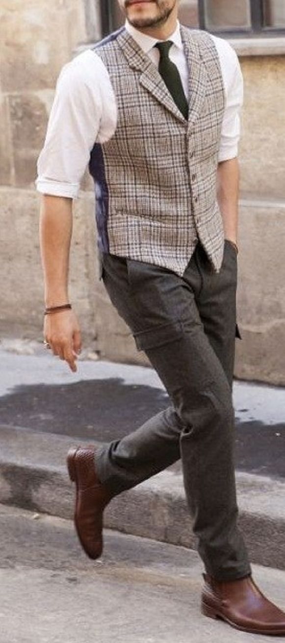 Rules For Wearing A Waistcoat