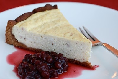 gingerbread ricotta cheesecake | GINGERBREAD | Pinterest